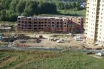 Краснообск, Западная, 228 фотоотчет со стройки