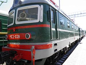 Пассажирский электровоз