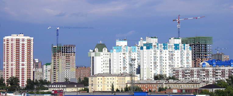 Стройки последних лет Новосибирск