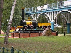 Детская  железная дорога, Заельцовский парк