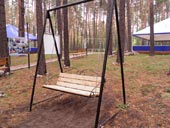 Скульптуры в Заельцовском парке