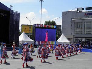 Новосибирск 2014 фотовыставка на дне города