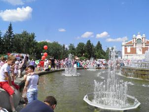 Праздник 121 лет Новосибирску