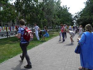 Празднование дня города Новосибирску 121 год