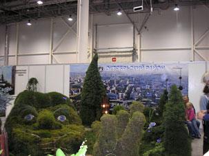 Выставка Ландшафтная архитектура и дизайн, Октябрьский район