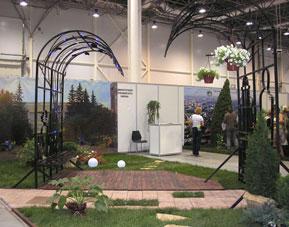Выставка Ландшафтная архитектура и дизайн, Первомайский район