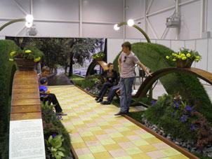 Выставка Цветы, сады и парки Сибири, Центральный район