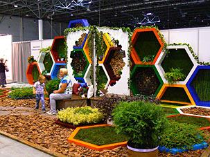 Выставка Ландшафтная архитектура и дизайн 2014, Октябрьский  район