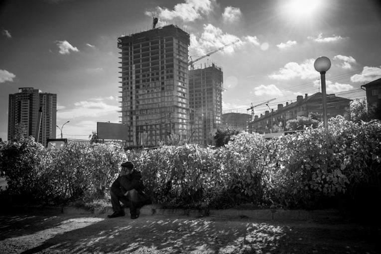 Фотовыставка Новосибирск строится 2014