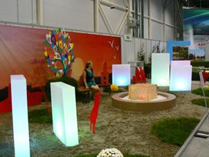 Выставка Цветы, сады и парки Сибири 2013, Ленинский район