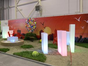 Выставка Ландшафтная архитектура и дизайн 2013, Ленинский район