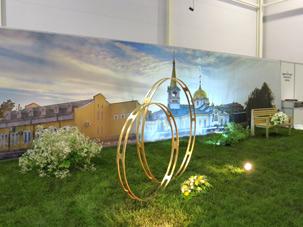 Выставка Цветы, сады и парки Сибири 2013, Кировский район