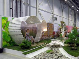 Выставка Цветы, сады и парки Сибири 2013, Калининский район