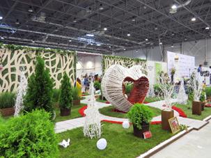 Выставка Цветы, сады и парки Сибири 2013, Октябрьский район