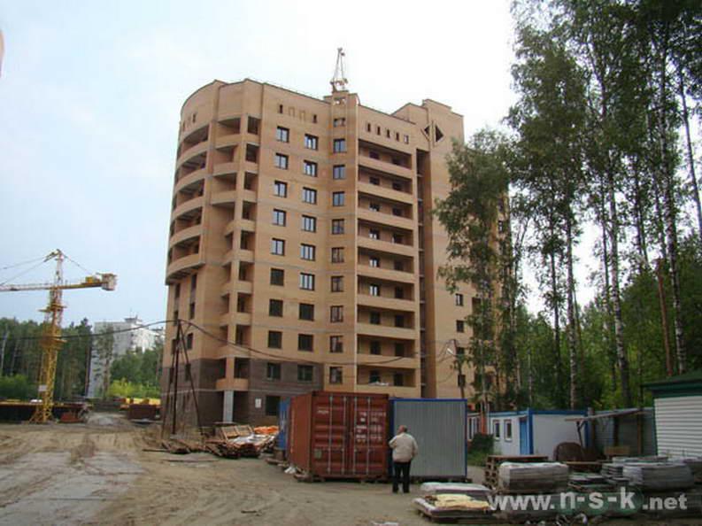 Академика Коптюга проспект, 11 фото темпы строительства