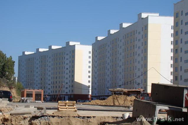 Татьяны Снежиной, 51 (Высоцкого, 20) фото темпы строительства