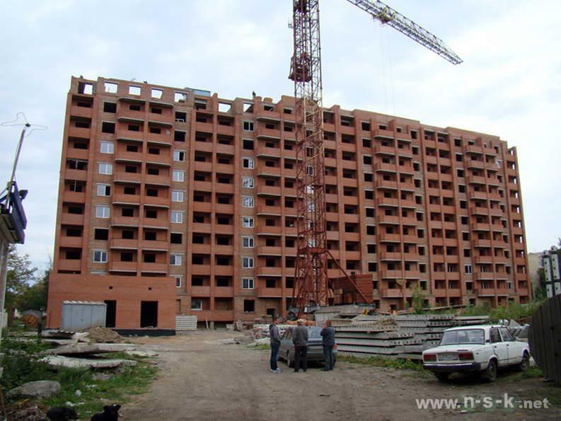 Связистов, 3/1 (Танкистов, 4 стр) фото как строится