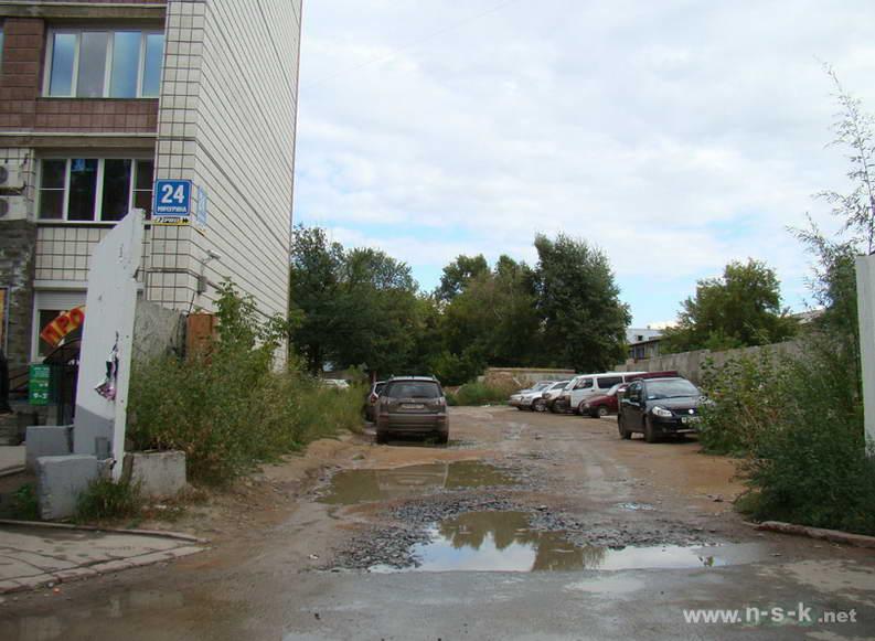 Мичурина, 24, 6-й подъезд III кв. 2012
