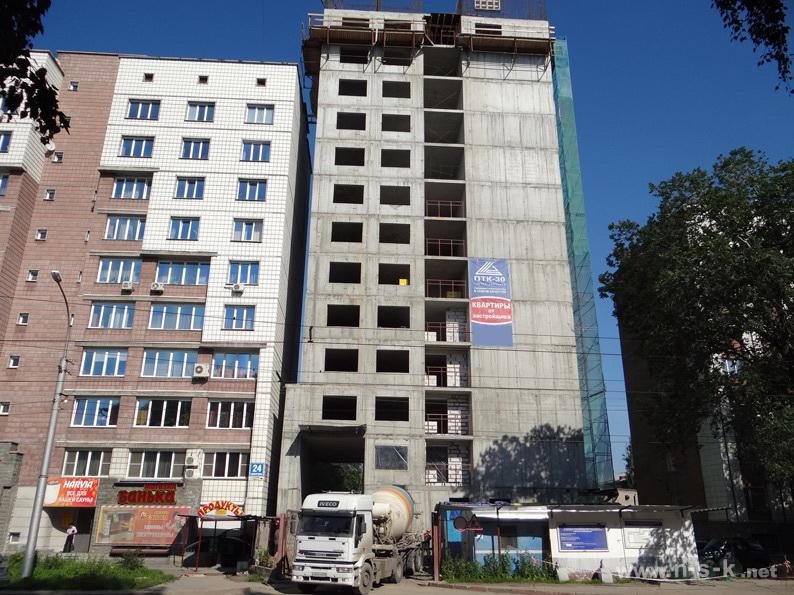 Мичурина, 24, 6-й подъезд III кв. 2013