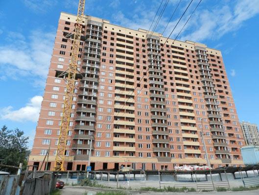 Закаменский микрорайон, 9, дом № 3 фото со стройки лето-осень 2020