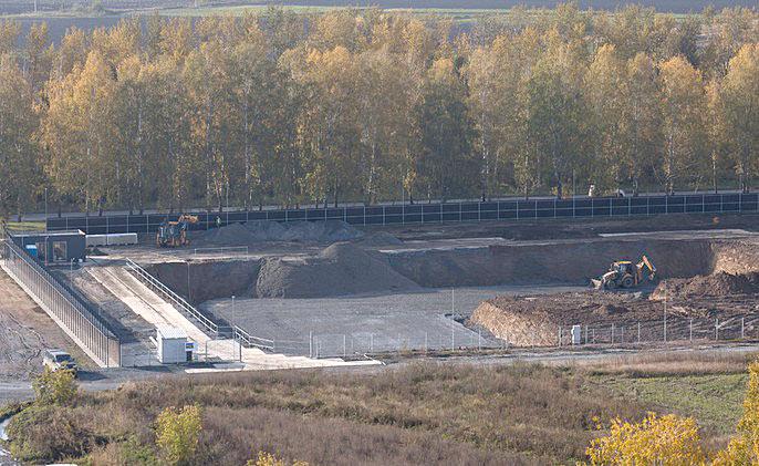 Краснообск, 10 фото со стройки лето-осень 2020