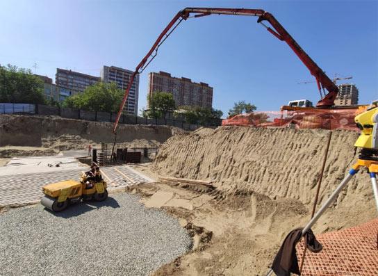 Красный проспект, 167 к1, к2 фото со стройки лето-осень 2020
