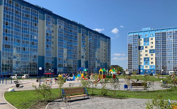 Троллейная, 3 стр фото со стройки лето-осень 2020