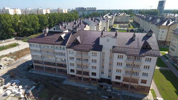 Зорге, 209/6, Венская фото со стройки лето-осень 2020