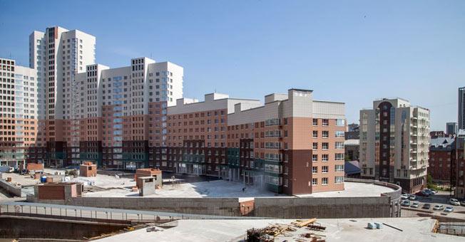 Семьи Шамшиных, 94, 94 к1 (дома 2, 4) фото со стройки лето-осень 2020