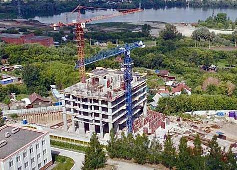 Горский микрорайон, 14 стр фото со стройки август 2021