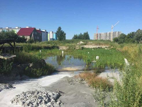 Титова, 253/8 стр (дом №8) фото со стройки август 2021