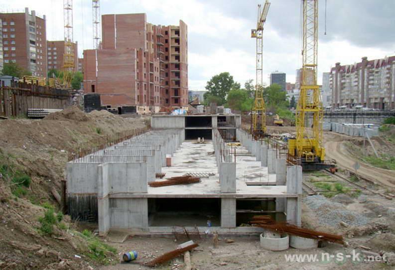 Кавалерийская, 9 фото динамика строительства