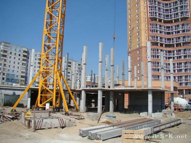 Высоцкого, 45 фото динамика строительства