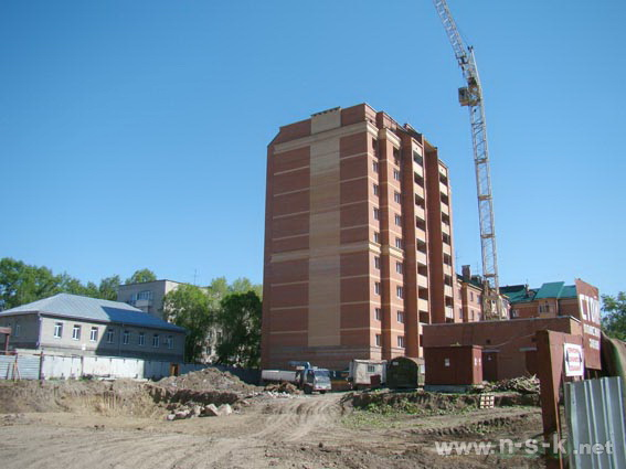Костычева, 5а фото динамика строительства