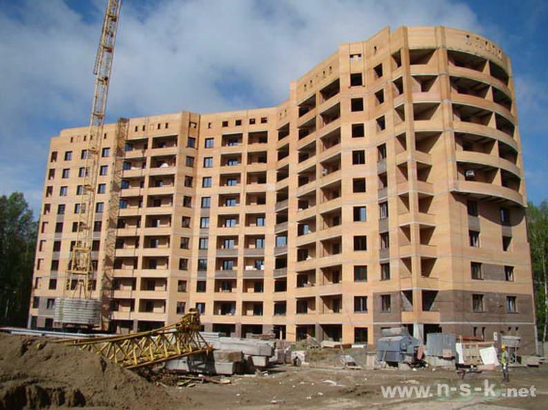 Академика Коптюга проспект, 11 фото динамика строительства