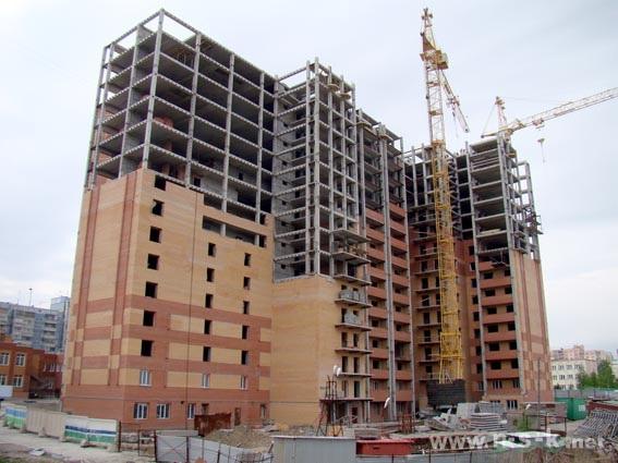 Горский микрорайон, 10 (Горская, 10) фото динамика строительства
