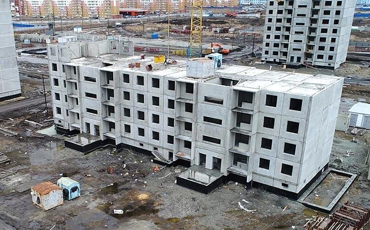 Титова, 256 дом 28 как строится