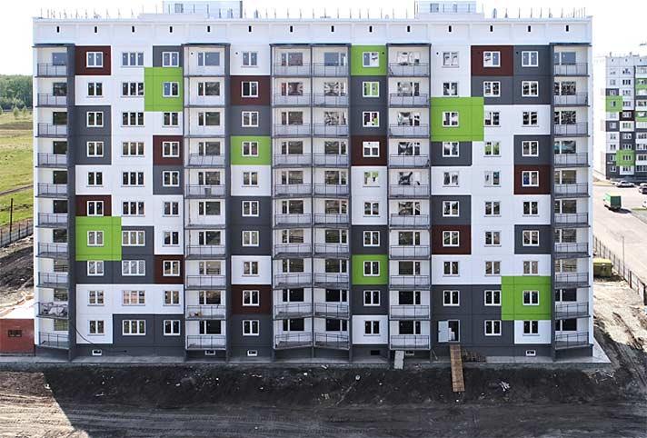 Титова, 256 дом 28 фото со стройки