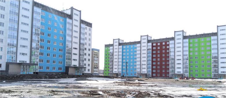 Титова, 40 фото со стройки весна 2020