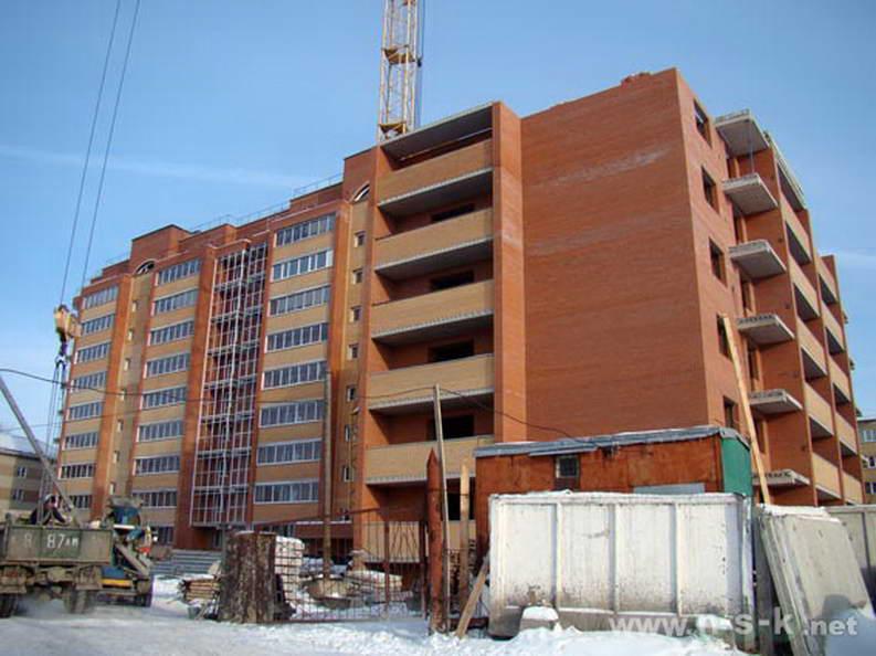 Тихвинская, 14 (Титова, 16) фото строительных работ
