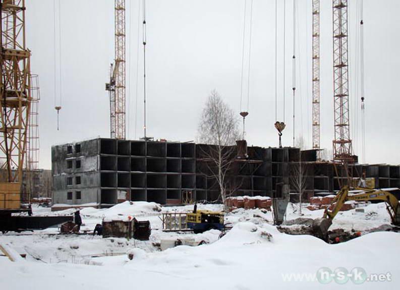 Березовая, 13 (Березовая, 1 стр) фото строительных работ