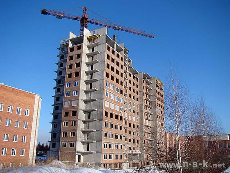 Краснообск, 56 фотоотчет строительства