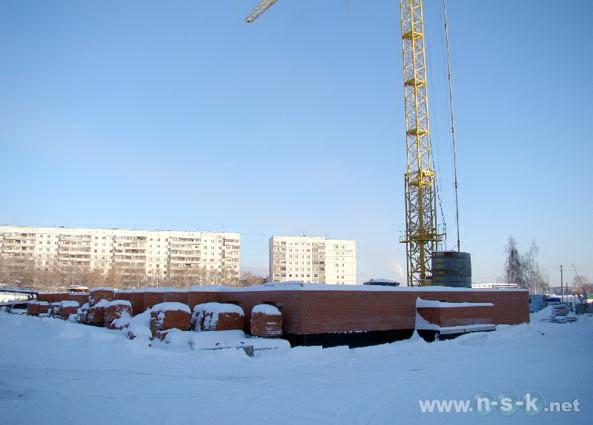 Сержанта Коротаева, 1 (Комсомольская, 18 стр) фотоотчет строительства