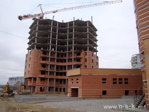 Высоцкого, 45 фотоотчет строительства