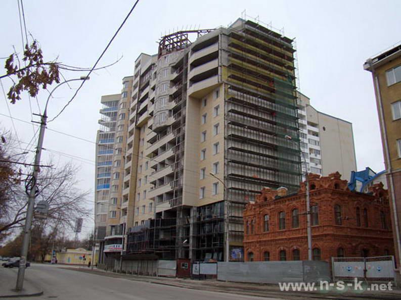 Ядринцевская, 18 фотоотчет строительства