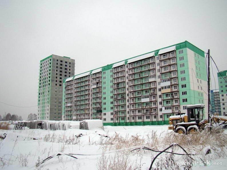 Татьяны Снежиной, 29/2, 29/3 (Высоцкого, 58, 59) IV кв. 2012