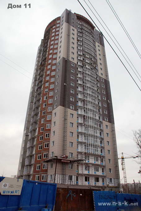 Кирпичная горка 5-я, 11, 12, 13, 16 IV кв. 2013
