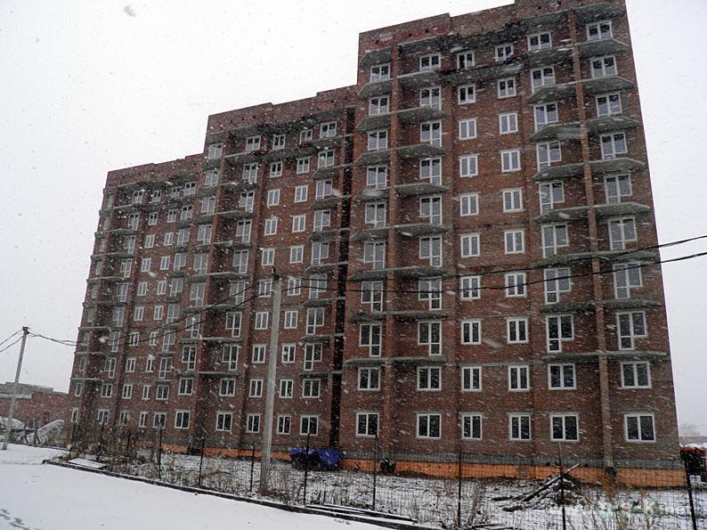 Связистов, 10 (147 стр), жилой дом Три тополя IV кв. 2014