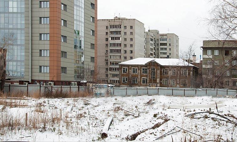 Коммунистическая, 10 фото стройки