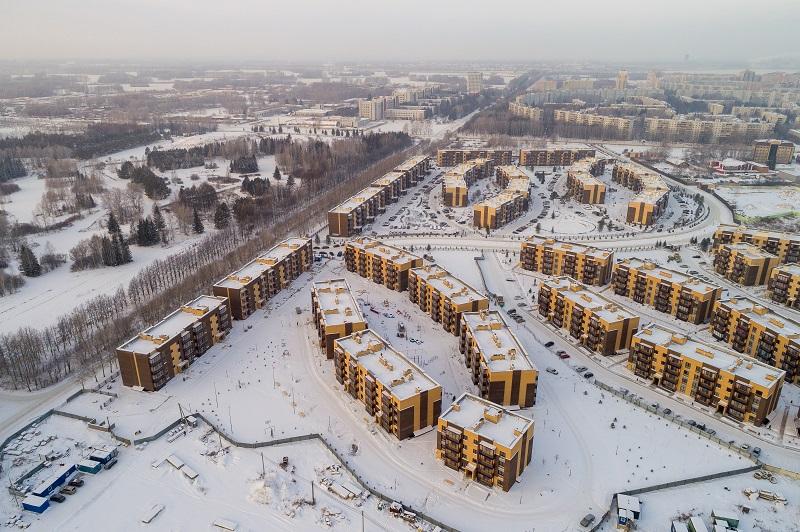 7-й микрорайон, 20-27, 6 очередь фото со стройки зима 2019